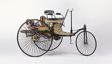 Benz historic three-wheel Patent Motor Car
